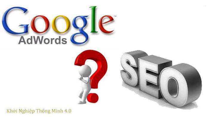 so sanh seo va google adwỏds