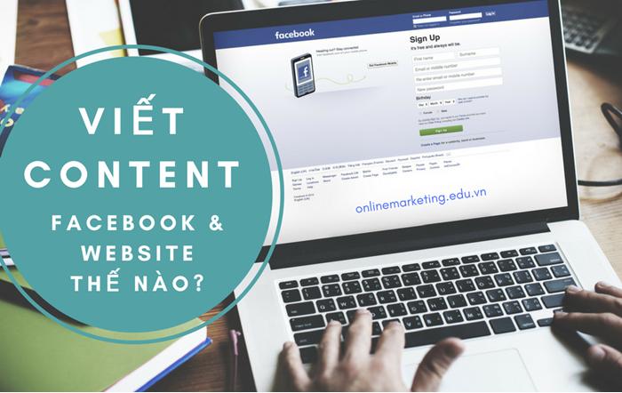 Viết content cho Facebook và Website