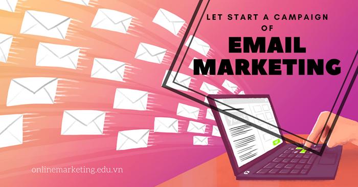 Bắt đầu một chiến dịch email marketing