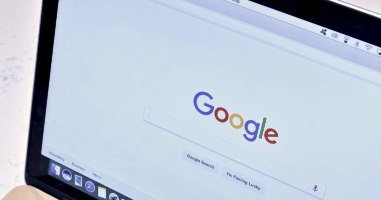 Giao diện tìm kiếm Google