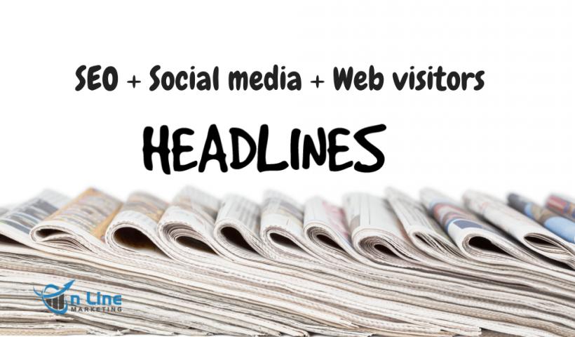 Viết tiêu đề phục vụ SEO, social media, web visitors