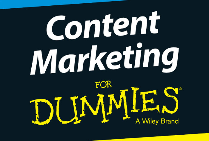 Tiêu đề sách Content marketing for dummies