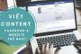 Cách viết content cho Facebook và cho website